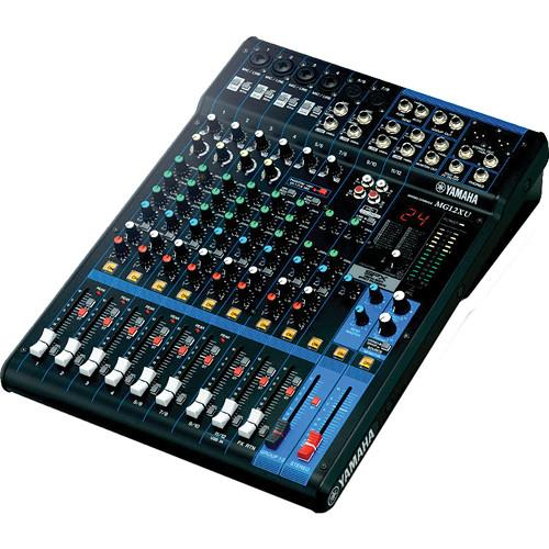 Yamaha MG12XU - 12-Input Mixer with Built-In FX and MG12XU