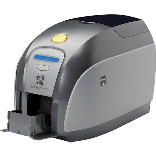 Zebra ZXP Series 1 Single-Sided Card Printer Z11-00000000US00