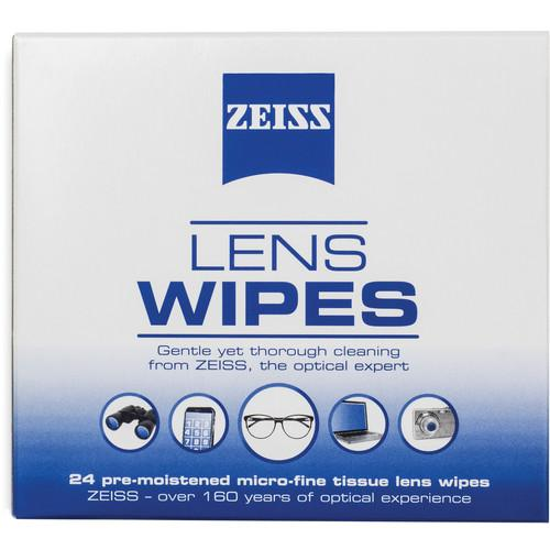 Zeiss  Lens Wipes with Pouch (20-Pack) 2127719