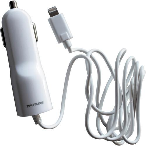 Zfuture Car Charger for Lightning 8-pin iPhone & ZFACIP5C1A