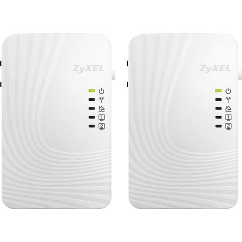 ZyXEL 500 Mb/s Powerline Wireless N-Extender Kit PLA4231KIT