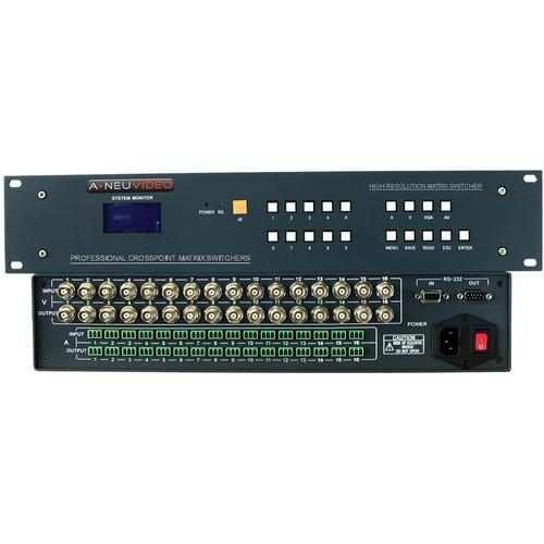 A-Neuvideo 16x8 AV Serial Matrix Switcher ANI-V1608