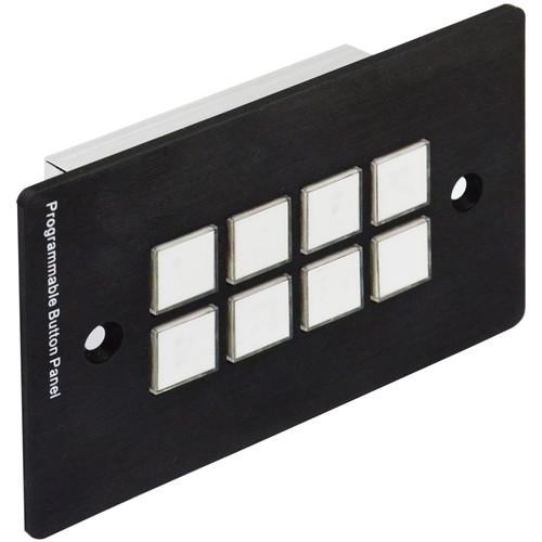 A-Neuvideo 8 Button Programmable Wall Control Panel ANI-8BWP