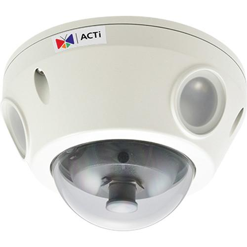 ACTi E928 3MP IR Day/Night Outdoor IP Dome Camera E928