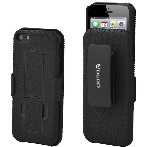Aduro Combo Shell & Holster for iPhone 5/5s AI5-CR01-HCS