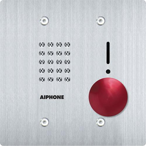 Aiphone IS-SSR-2G 2-Gang Audio Door Station with Red IS-SSR-2G
