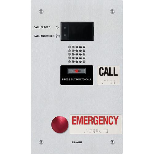 Aiphone IX-SS-2RA IP Addressable Dual-Call Button IX-SS-2RA