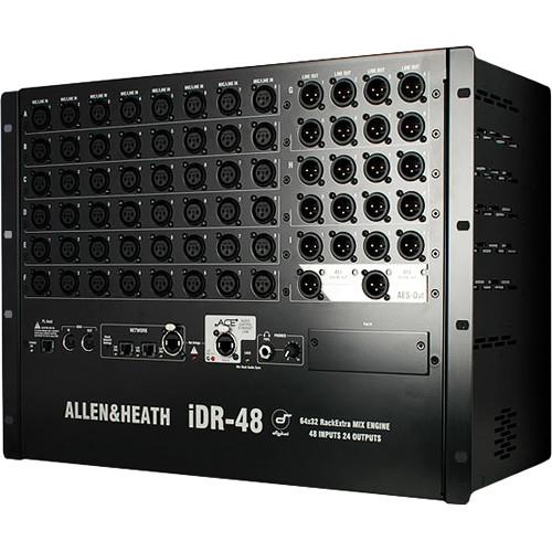 Allen & Heath iDR-48DO iLive Fixed-Format MixRack AH-IDR-48DO