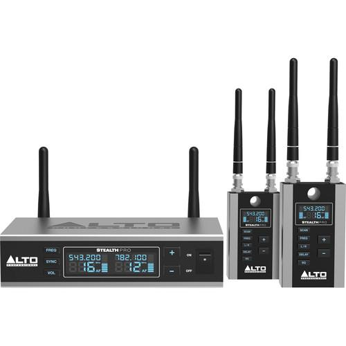Alto Stealth Wireless Pro Professional Audio STEALTH PRO