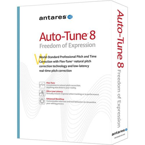 Antares Audio Technologies Auto-Tune 8 Native - 24008
