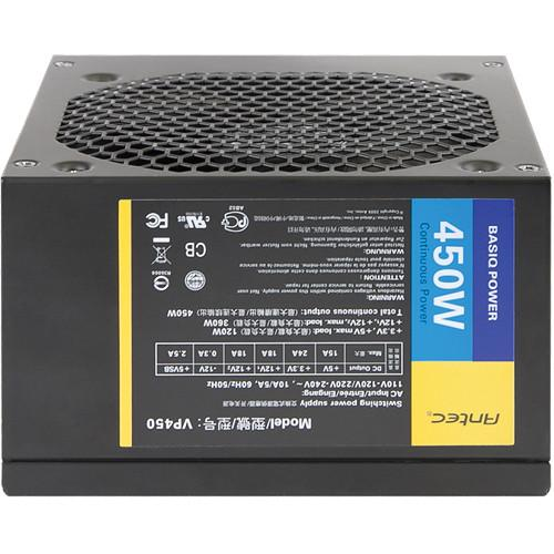 Antec  450W Power Supply Unit (Black) VP-450