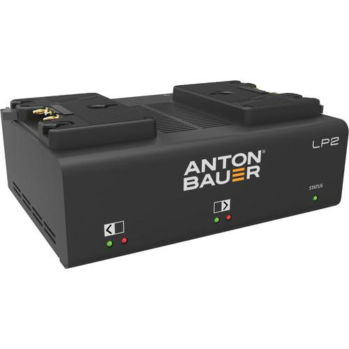 Anton Bauer LP2 Dual Gold-Mount Battery Charger 8475-0125