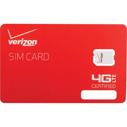 Apple Verizon 4G LTE 4FF Nano SIM Card DFILLSIM4FF-A