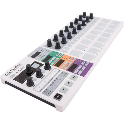 Arturia BeatStep Pro - MIDI/Analog Controller and 430111