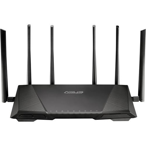 ASUS RT-AC3200 Tri-Band Wireless-AC3200 Gigabit Router RT-AC3200