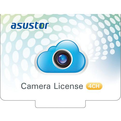 Asustor  4-Channel Camera Licenses AS-SCL04