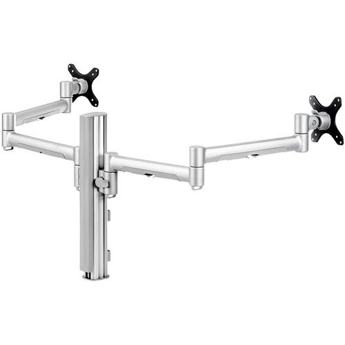 Atdec Systema SD7140S Dual Arm Desk Mount (Silver) SD7140S