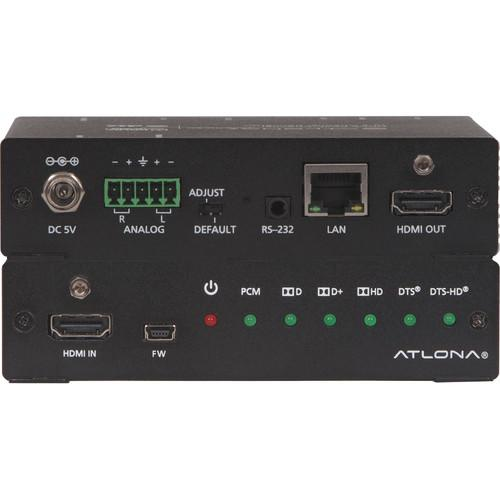Atlona 4K/UHD HDMI Multi-Channel Digital to AT-UHD-M2C-BAL