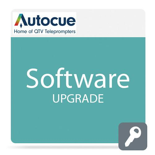 Autocue/QTV QPro Teleprompting Software Upgrade SW-LICENSE/W8/2