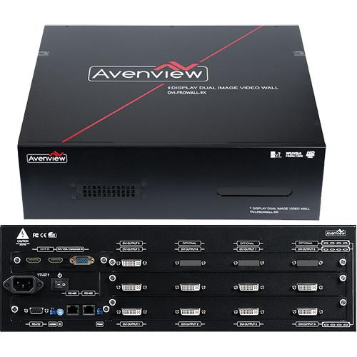 Avenview DVI-PROWALL-9X 9-Display Videowall DVI-PROWALL-9X