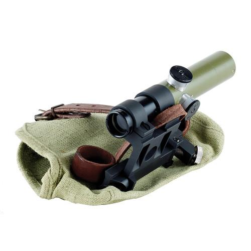 Bering Optics 3.5x20 PU Scope With Mount (Green) BE55002