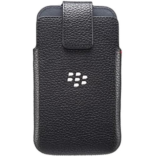 BlackBerry Classic Leather Swivel Holster (Black) ACC-60088-001