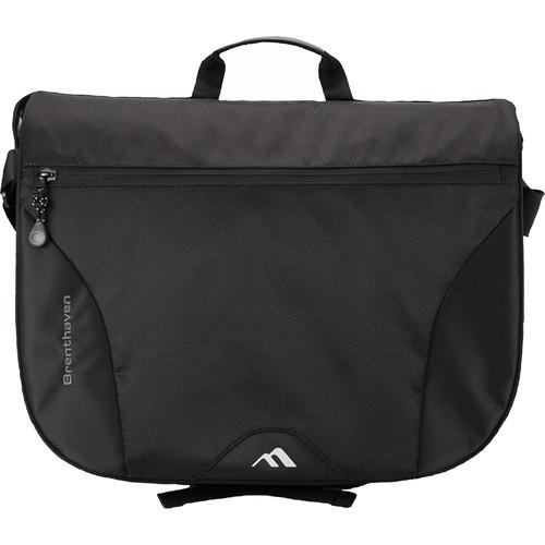 Brenthaven Pacific Messenger Bag for MacBook (Black) 2195