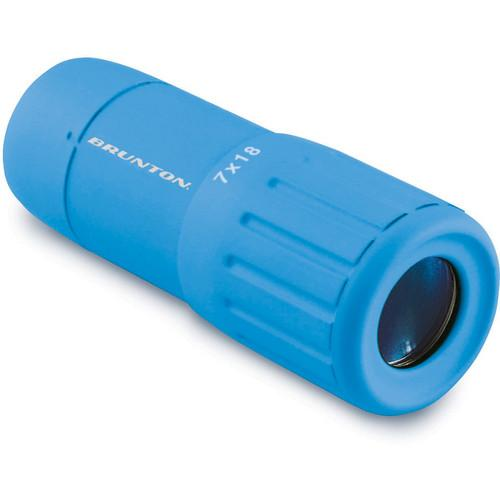 Brunton Echo Pocket Scope 7x18 Monocular (Blue) F-ECHO7018-BL