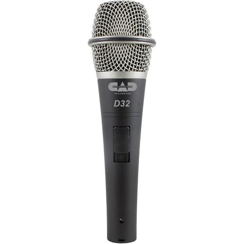 CAD CADLive D32 Supercardioid Dynamic Handheld Microphone D32X3