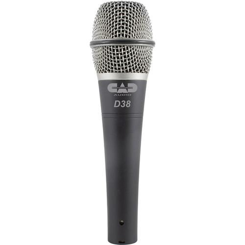 CAD CADLive D38 Supercardioid Dynamic Handheld Microphone D38X3