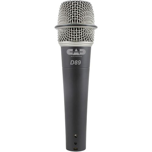 CAD CADLive D89 Supercardioid Dynamic Handheld Microphone D89