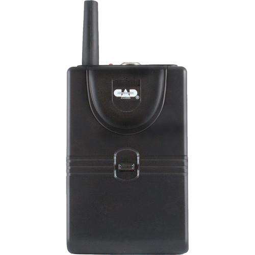 CAD TXBGXLV VHF Bodypack Transmitter for GXLV Wireless TXBGXLVJ
