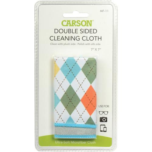 Carson Double Sided Cleaning Cloth - 7 x 7