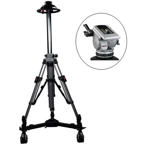 Cartoni P2D01 Pedestal Package with P20 Pedestal, Delta P2D01