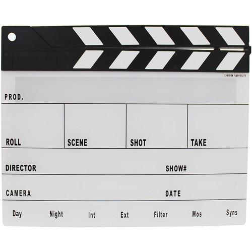 Cavision Next-Generation Black & White Clapper Slate and