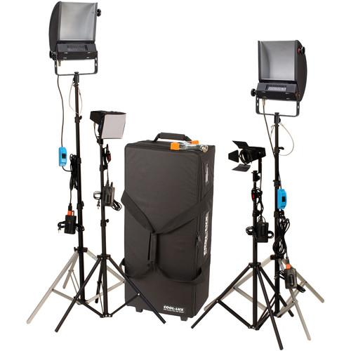 Cool-Lux LK2341 Hollywood Combo Studio Interview Kit 945267