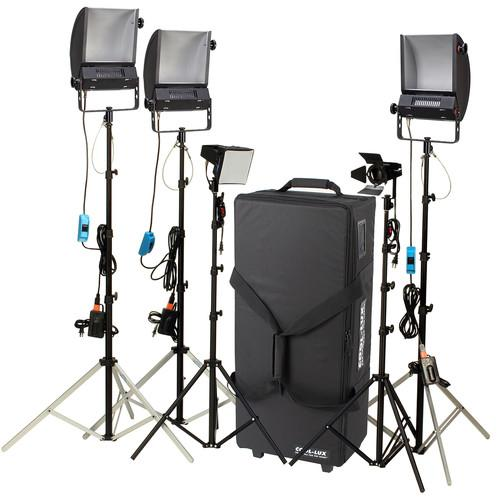 Cool-Lux LK2347 Hollywood Combo Studio Interview Kit 945277
