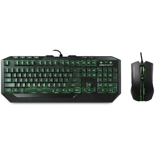 Cooler Master Devastator Green LED Gaming SGB-3012-KKMF1-US