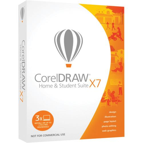 Corel CorelDRAW Home and Student Suite X7 CDHSX7ENMBAM