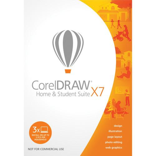 Corel CorelDRAW Home and Student Suite X7 ESDCDHSX7ENFRAM