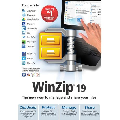 Corel  WinZip 19 Standard (Download) ESDWZ19STDML