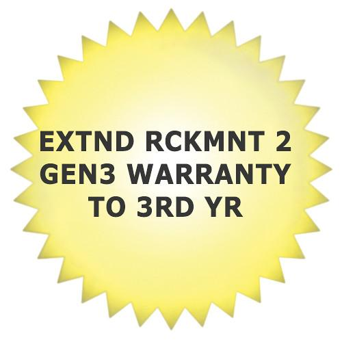 Cubix 3rd Year Extended Warranty for Rackmount 2 XR2G3WNTY-03