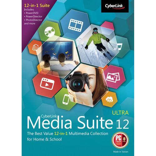 CyberLink Media Suite 12 Ultra (Download) MES-0C00-IWU0-00