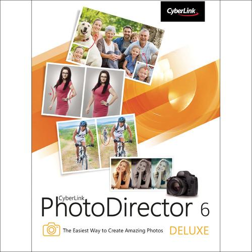 CyberLink PhotoDirector 6 Deluxe (Download) PTD-0600-IWX0-00