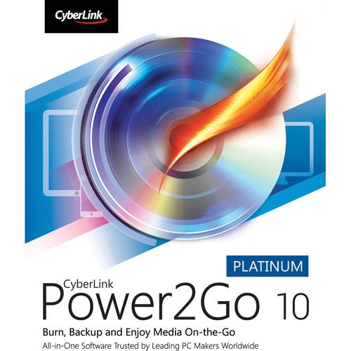 CyberLink Power2Go 10 Platinum (Boxed) P2G-EA00-RPP0-00