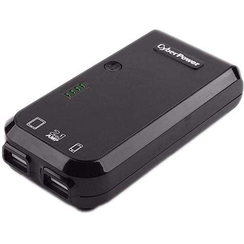 CyberPower 5200 mAh External Battery Pack USB Charger CPBC5200AC