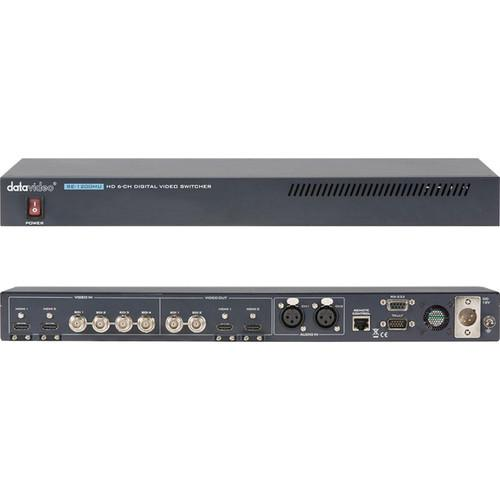 Datavideo SE-1200MU 6 Input HD Digital Video Switcher SE-1200MU