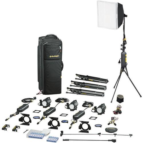 Dedolight S4-M Master Explorer 4-Light Kit (230VAC) S4-M-E