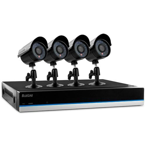 Defender 8-Channel 500GB DVR with 4 x 600 TVL Cameras 21171