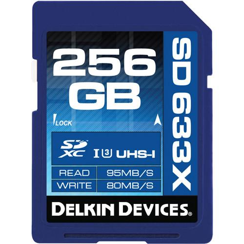 Delkin Devices 256GB Elite UHS-I SDXC Memory Card DDSD633256GB-A
